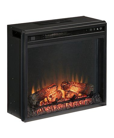 Loving This Black Entertainment Accessories Fireplace Insert On