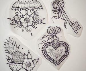 Imagen de sketch, Tattoos, and cute