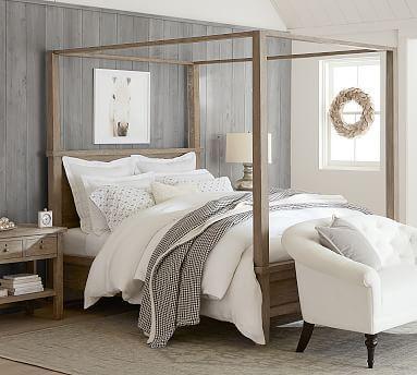 Farmhouse Canopy Bed Potterybar Farmhouse Canopy Bed Potterybarn Farmhouse Canopy Beds Bedroom Furniture Sets Bedroom Design