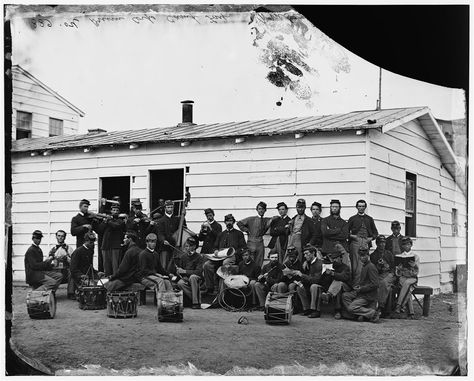 (click image to enlarge) Pictured here are the Veteran Reserve Corp's Drum Corp in Washington, DC June The Veteran Reserve Corps used to be designated the Invalid Corps, made up of…