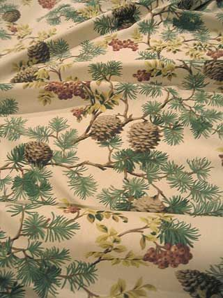 A Winter Song Pinecone Berry Bunches Bark Brown Fabrics Pinterest Barking F C And