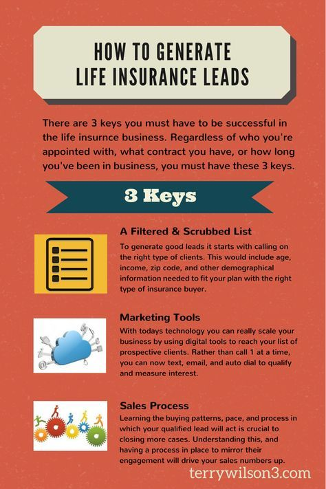 3 Ways To Generate Life Insurance Leads Life Insurance Quotes