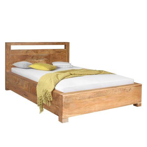 Home24 Massivholzbett Maldon Bettgestell Gunstige Betten Und Bett