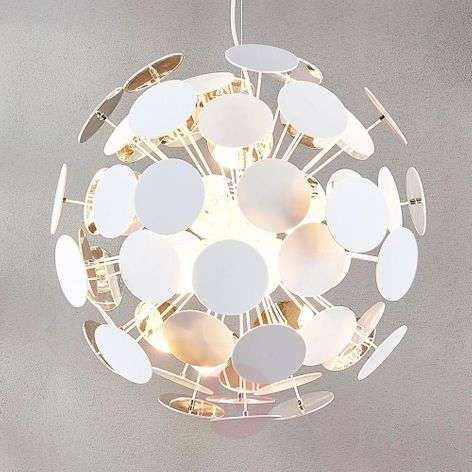 Interessante Hanglamp Explosion In Wit Chroom Lampen24 Nl In 2020 Hanglamp Lampen Lampen24