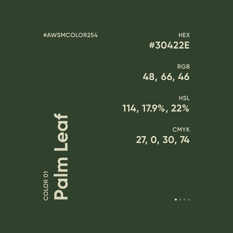 """Awesome Color Palette on Instagram: """"30422E • B99309 • EDECDE • CECBAB  #AWSMCOLOR254 #AWSMCOLOR ⠀ Color Gradients: @awsmgradient…"""""""