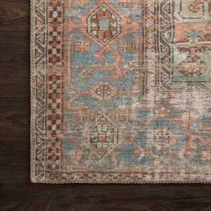 Skye Persian Inspired Terracotta Beige Area Rug Reviews Allmodern Persian Area Rugs Area Rugs Rug Studio