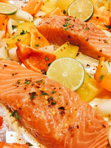 Chili Lime Salmon — Rachel Reaches