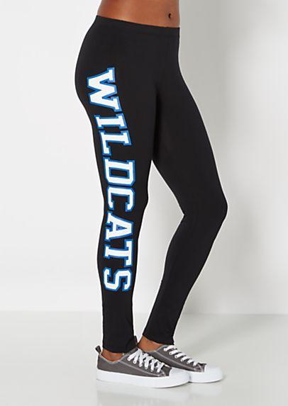NCAA Kentucky Wildcats Leggings S//M SLIM FIT!