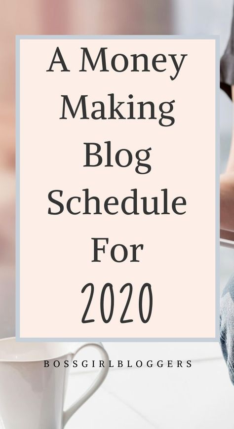 Blogging Schedule For Success - How To Manage Your Time As A Blogger