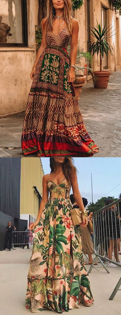 Bohemian Style Women Dresses Collection