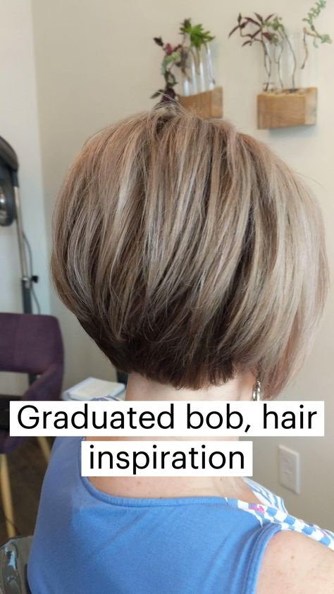 Graduated bob, hair inspiration