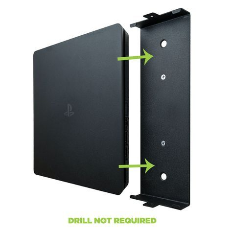 Hideit 4s Playstation Ps4 Slim Mount Ps4 Wall Mount Playstation Playstation Room
