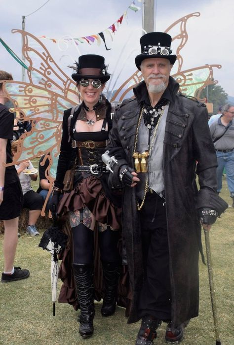 Couples who play together. www.dcat8.com #dcat8 #dangerouscurves #steampunk #couplegoals