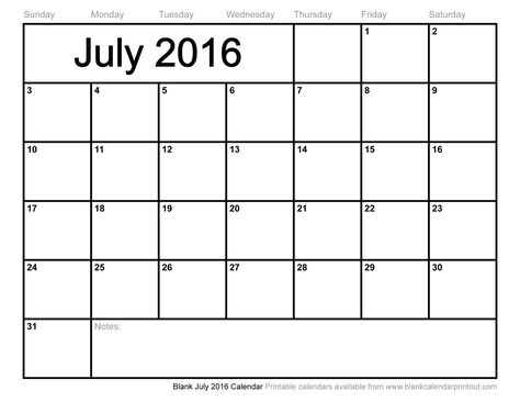 My favorite website for a basic monthly calendar printout - monthly calendar