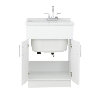 shaker laundry cabinet kit with pull