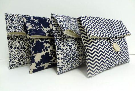 Ideas For Sewing Bags Clutch Fabrics Diy Clutch, Diy Purse, Clutch Bags, Pochette Diy, Diy Sac, Wedding Clutch, Diy Couture, Fabric Bags, Small Bags