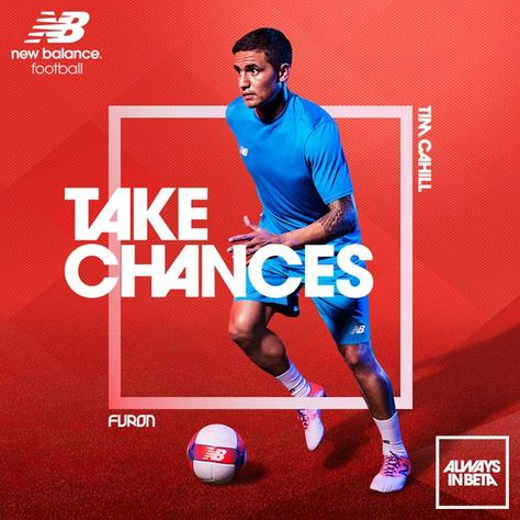 awesome FLIPP Management   Neil Bailey for New Balance and Tim Cahill #football #adverti...