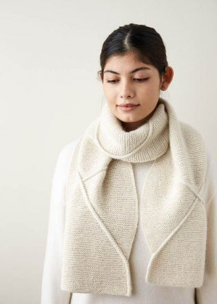 Delicate Cable Scarf | Purl Soho free pattern | Free