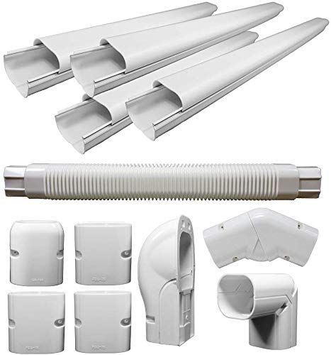 New Pioneer Air Conditioner Decorative Pvc Line Cover Kit Mini Split Air Conditioners Heat Pumps Wys Lcvr Kit Online In 2020 Ductless Mini Split Heat Pump Air Conditioner Accessories