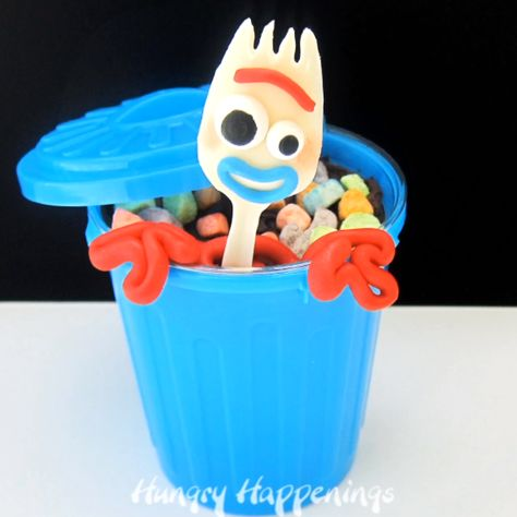 Forky Cupcakes - Toy Story 4