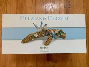 Fitz Floyd Toulouse Candelabra 20 488 Bird Ebay Fitz And Floyd Toulouse Tobago