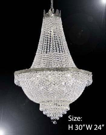 Swarovski Crystal Trimmed Chandelier