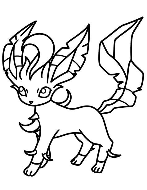 Pokemon Eevee Coloring Pages Pokemon Coloring Pages Eevee
