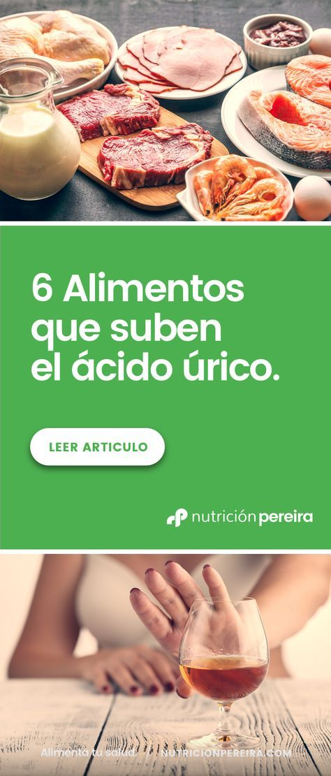 Pin En ácido Urico