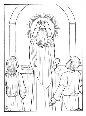 religious printable coloring pages Eucharist   Holy Communion ...