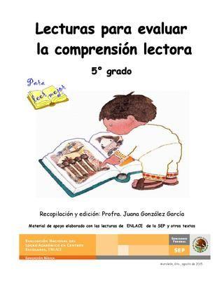 Cuadernillo De Actividades Fortalecimiento De La Comprension Lectora 5 Grado De Primaria Comprensión Lectora Lectura Comprensiva Lecturas Comprensivas Para Primaria