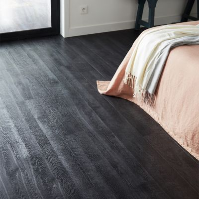 Lame Pvc Adhesive Tarkett Starfloor Smoked Black 15 2 X 91 4 Cm Vendue Au Carton Lame Pvc Adhesive Castorama Et Decoration Contemporaine