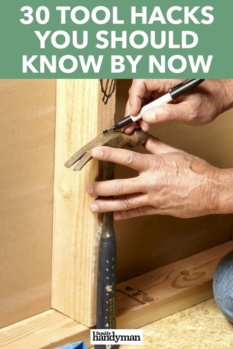 Fine Woodworking Projects 30 Tool Hacks You Should Know By Now.Fine Woodworking Projects 30 Tool Hacks You Should Know By Now Woodworking Techniques, Fine Woodworking, Woodworking Projects, Woodworking Bench, Handyman Projects, Woodworking Vacuum, Sauder Woodworking, Carpentry Tools, Tutorials
