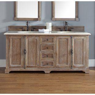 Astoria Grand Truet 54 Double Bathroom Vanity Set Wayfair Double Vanity Bathroom Bathroom Vanities Without Tops Bathroom Vanity