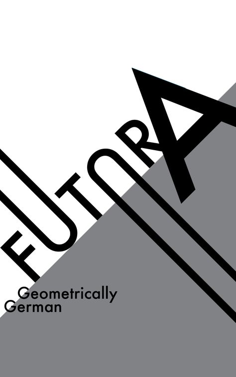 Learning about Type & Hierarchy: Explorations with a Futura Poster