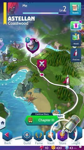 Mobile game design - Overworld Map Design