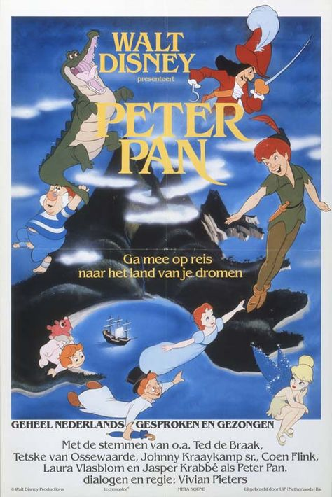 Throwback Thursday: Peter Pan's Posters