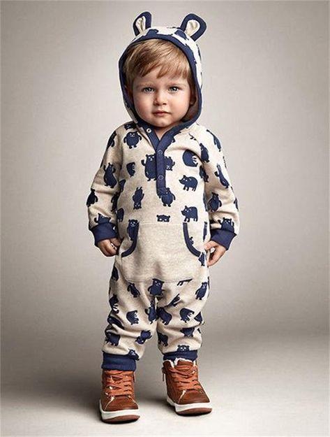 9bc9e8cf8 Baby Boys Infant Romper Jumpsuit