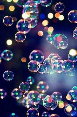bubbles iridescent