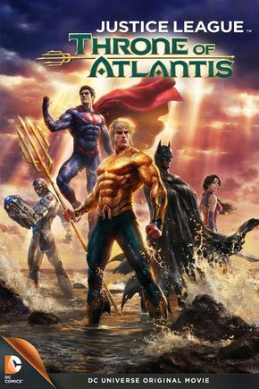 Justice League Throne Of Atlantis Five Moments That Will Change