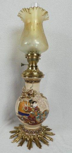 Lampa Naftowa Satsuma Sygnatura D R Patent 8753068632 Oficjalne Archiwum Allegro Oil Lamps Lamp Candle Holders