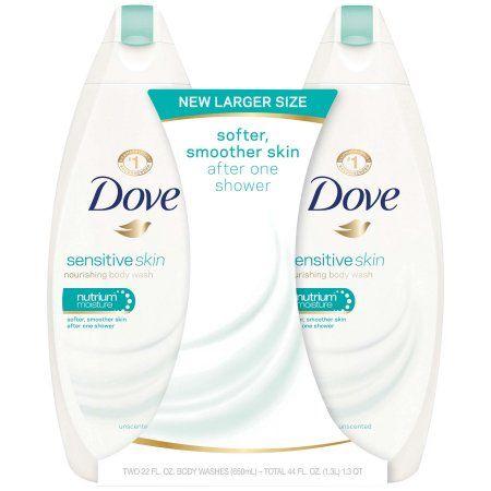 Dove Body Wash Sensitive Skin 22 Oz 2 Count Walmart Com In 2020 Dove Sensitive Skin Body Wash Sensitive Skin Body Wash Sulfate Free Body Wash