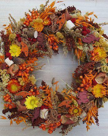 Wianek Jesienne Dni Pakamera Pl Fall Wreaths Fall Wreath Wreaths