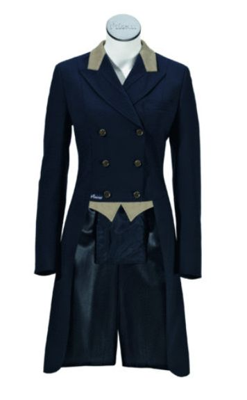Pikeur Ladies Dressage Tails Shadbelly with McCrown Leather Collar and Points…