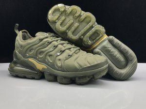 Mens Nike Air Max 270 Tn Plus Casual Sneakers Gold black