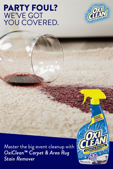 Get Stains Out Post Party With Oxiclean Carpet Area Rug