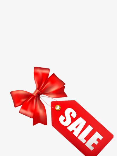 Sale Tag Promotions Red Label Bow Png Transparent Clipart Image And Psd File For Free Download Bow Clipart Clip Art Red Label
