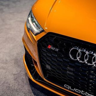 Audi RS 3 Mk2 (2018)   400hp 5-cylinder Quattro This one has