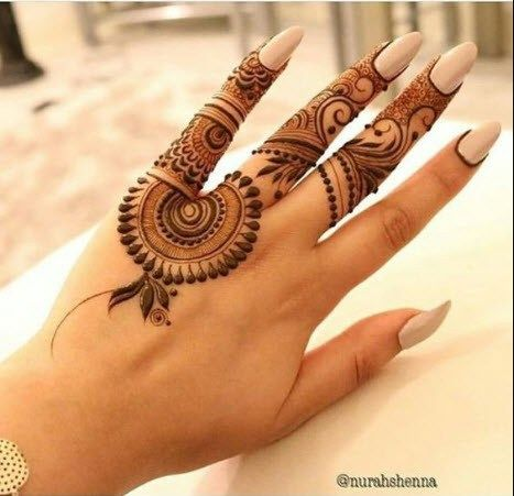 Simple And Easy Mehndi Design 2019 Latest Images