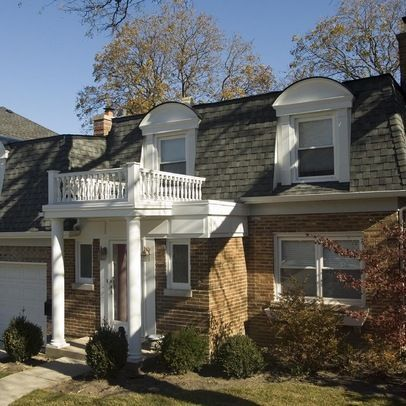 How To Make The Best Of The Mansard Roof Awesome Ideas Mansard Roof House Exterior House Roof