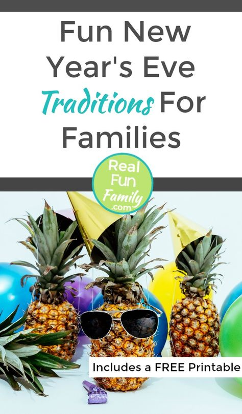 Fun New Year's Eve Traditions For Families